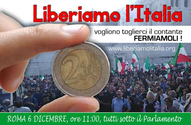 LIBERIAMO L'ITALIA - In difesa del contante